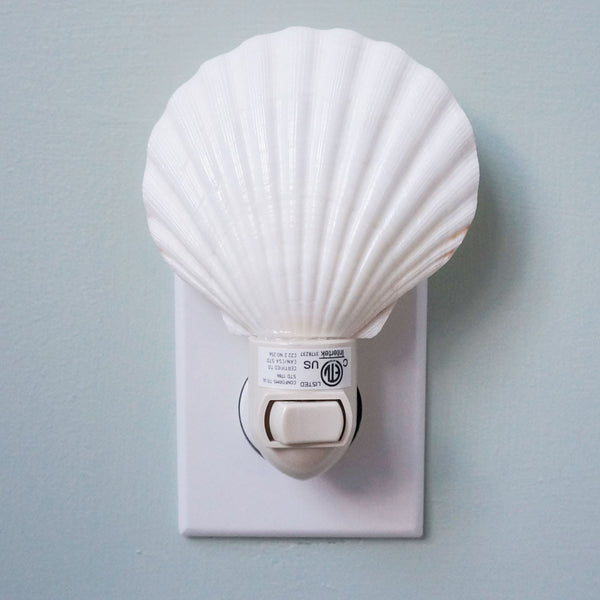 Scallop Night Light