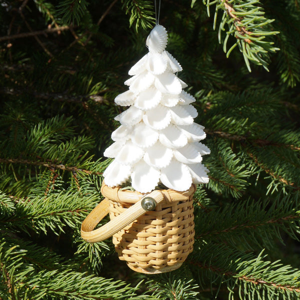 Nantucket Sea Shell Tree Ornament