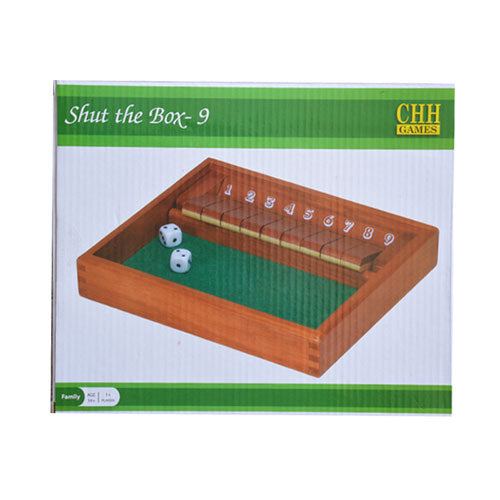 "Nantucket ""Shut the Box - 9"" Game"