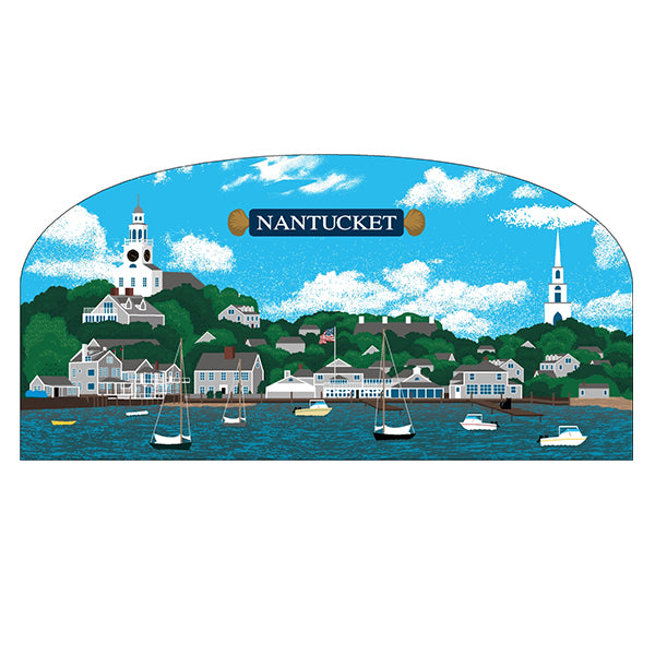 "Cat's Meow ""Nantucket Skyline"" Keepsake"