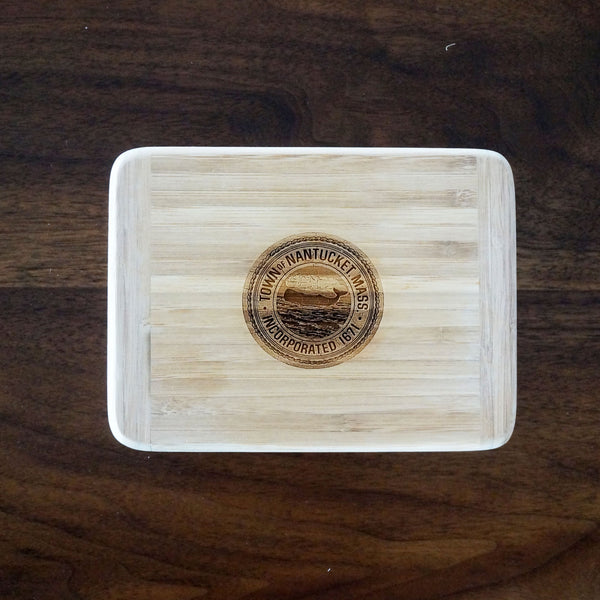 Nantucket Town Seal Cutting Board