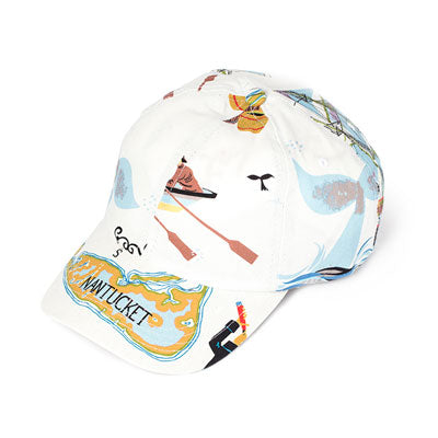 Baseball Hat - N.Tuc White