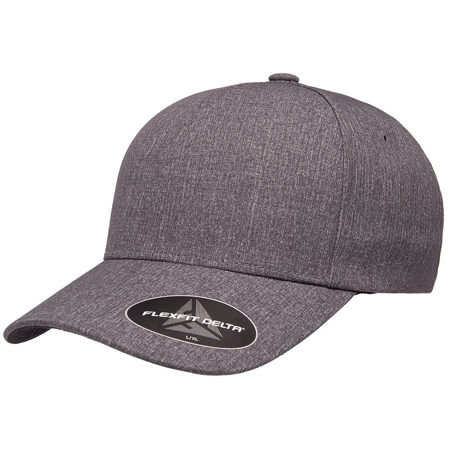 Flexfit Delta Hat with Leather Patch