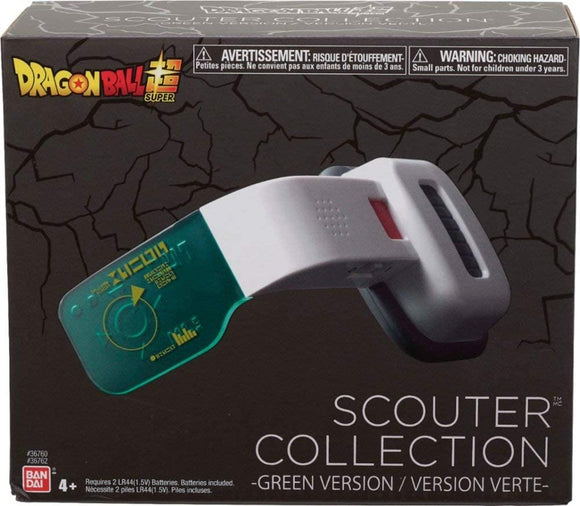 Dragon Ball Z: Scouter Green