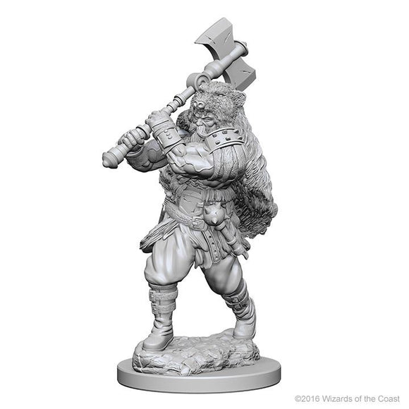 D&D Figure: Human Male Barbarian