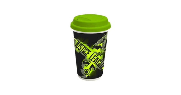 Justice League M: Logo Travel Mug