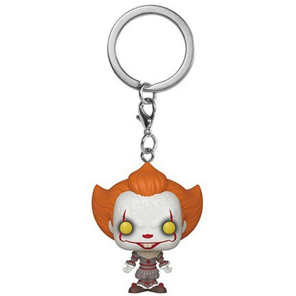POP! Keychain: IT Ch2 Pennywise Open Arm