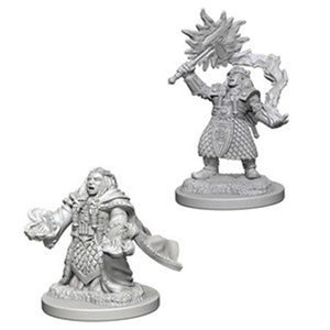 D&D Figure: Dwarf Female Cleric