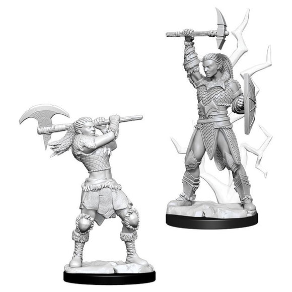 D&D Figure: Female Goliath Barbarian