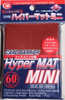 KMC: Hyper MAT - Mini Sleeve (Red)