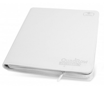 UG: Quadrow ZipFolio White Xeno Folder