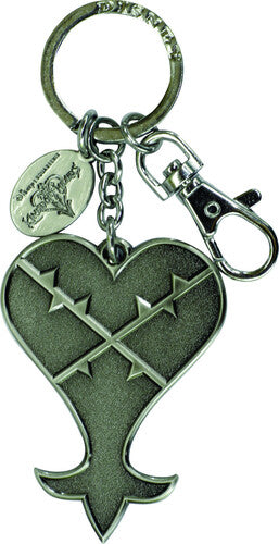Keyring Pewter: Kingdom Hearts Heartless