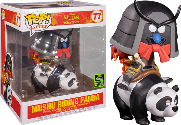 POP! Mulan: Mushu Riding Panda EC20