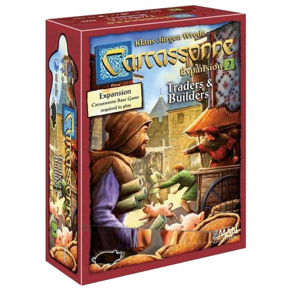 Carcassonne: Exp 2 Traders & Builders