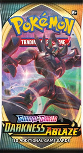 Pokemon TCG: Darkness Ablaze Booster