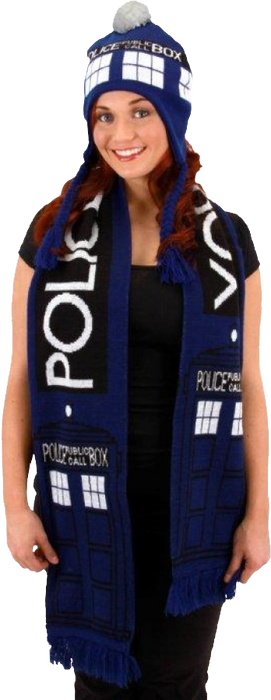 Doctor Who: Scarf (Tardis)