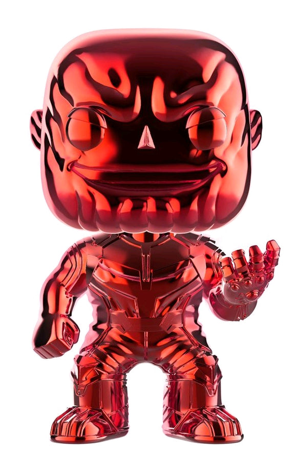 POP! Avengers IW: Thanos Chrome Red