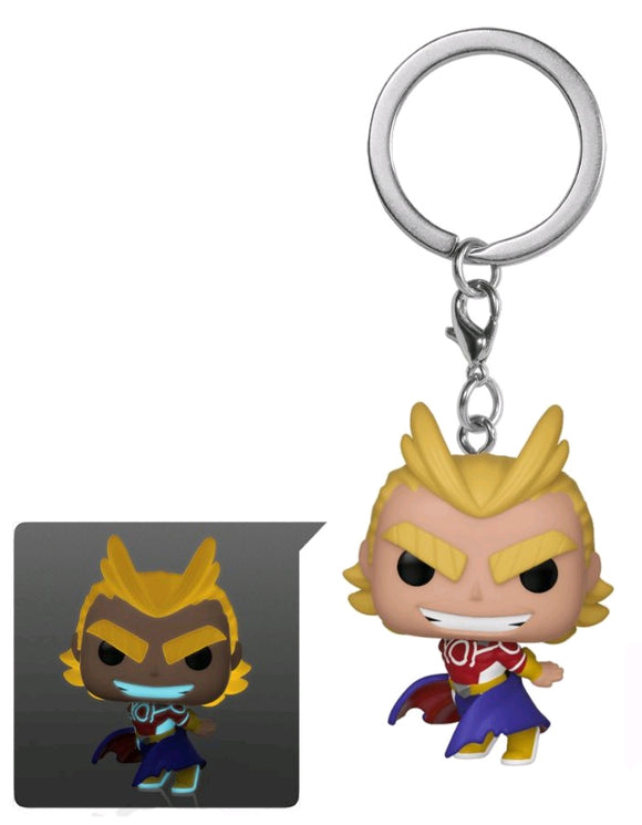 POP Keychain: All Might Silver Age GW
