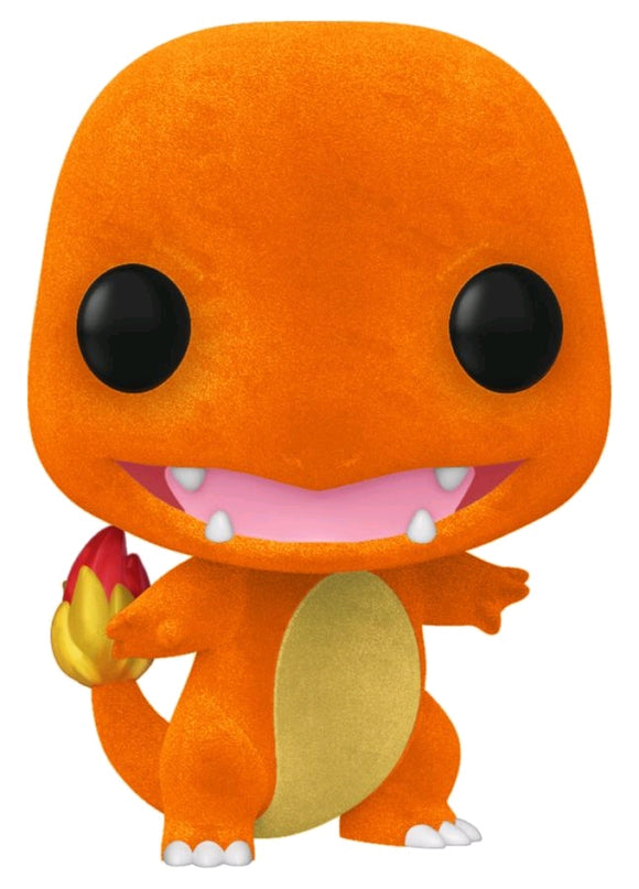 POP! Pokemon: Charmander Flocked EC20