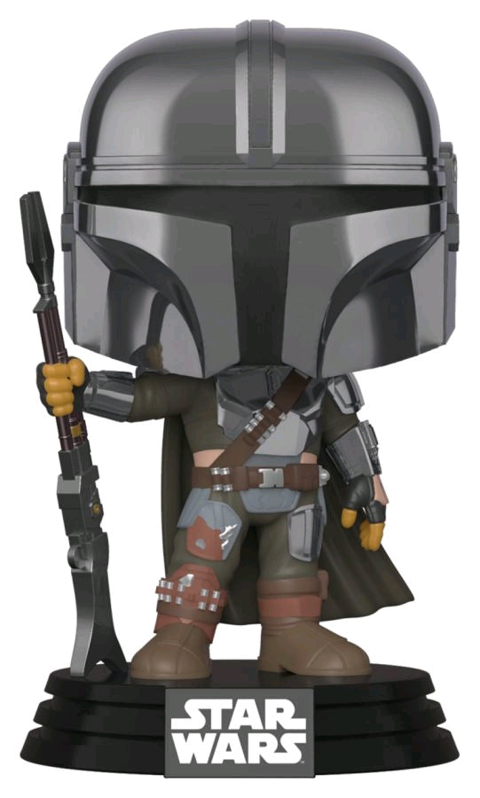 POP! SW Mandalorian: Mandalorian Chrome