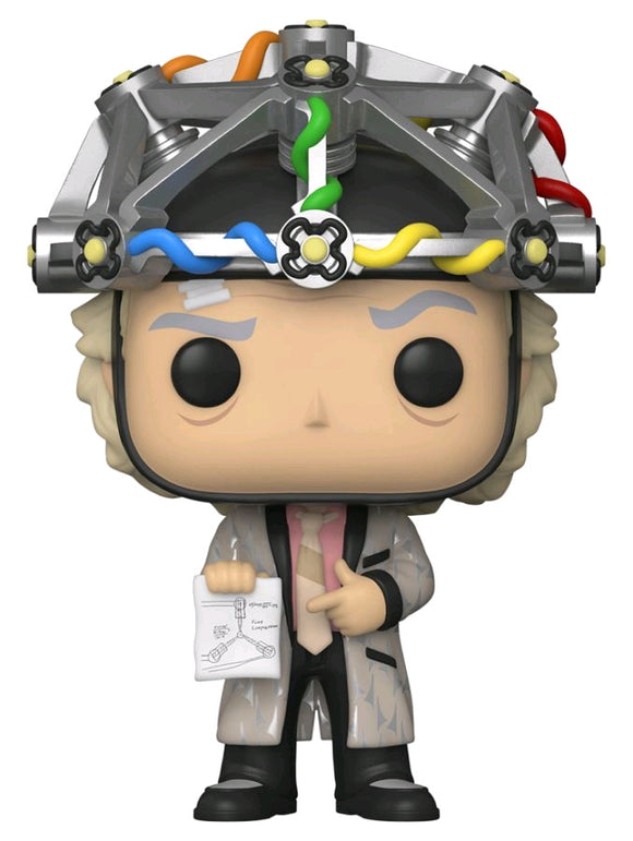 POP! BTTF: Doc Brown w/ Helmet