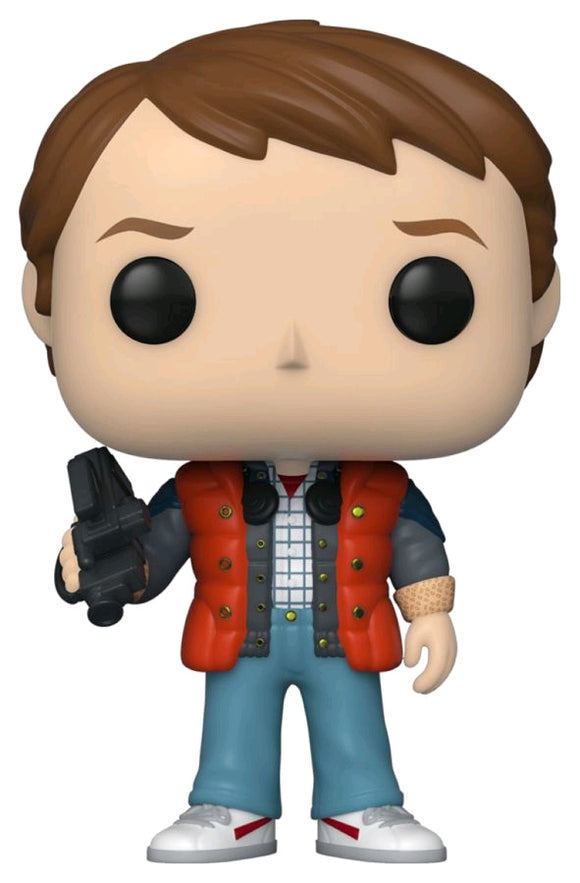 POP! BTTF: Marty McFly in Puffy Vest