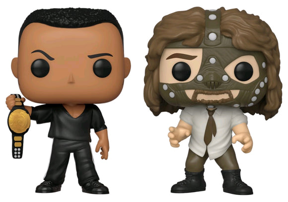 POP! WWE: Rock vs Mankind 2pk E!
