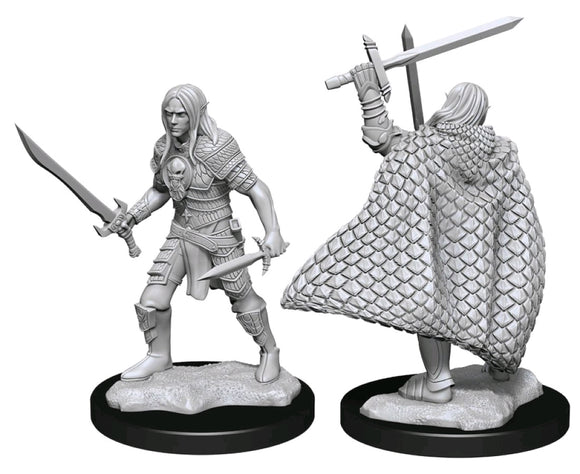 Pathfinder Figure: Elf Fighter Male