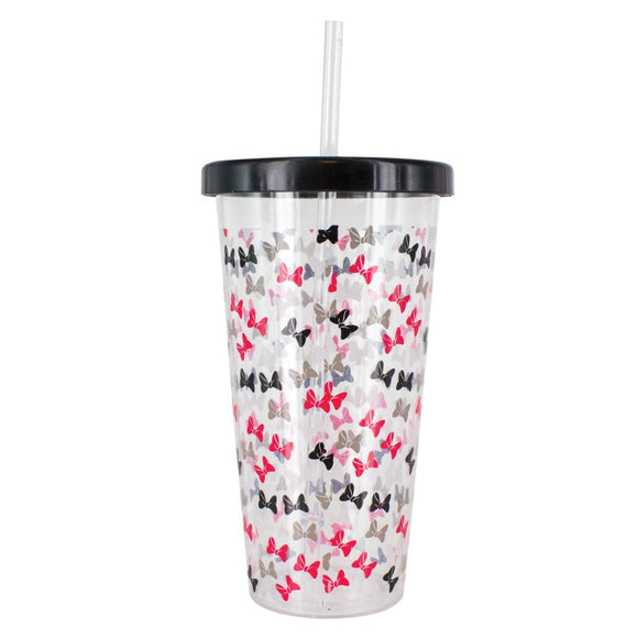 Minnie Mouse: Cup & Straw