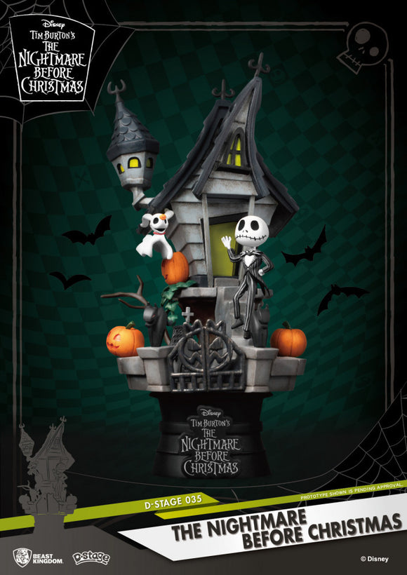 D Stage: Nightmare Before Christmas