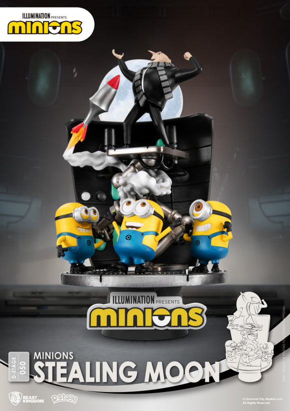 D Stage: Minions Stealing Moon