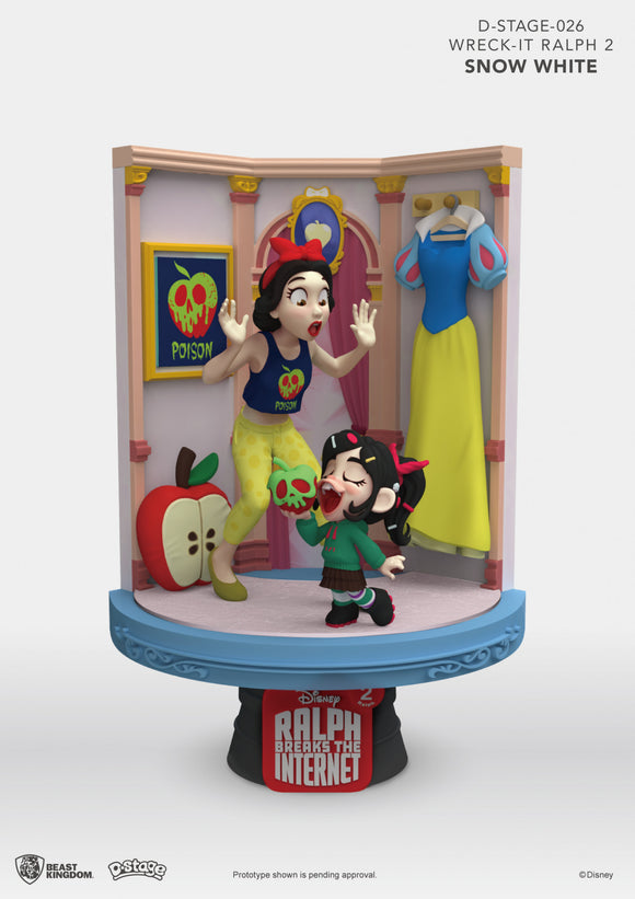 D Stage: Wreck It Ralph 2 Snow White