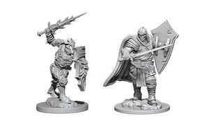 D&D Figure: Death Knight & Helmed Horror