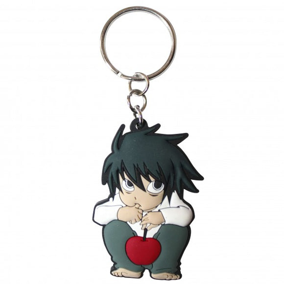 Death Note: L Character Keychain