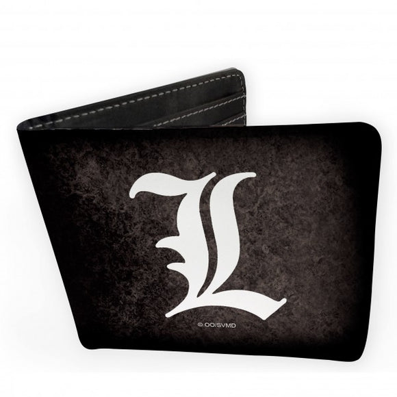 Death Note: Wallet L Symbol Vinyl