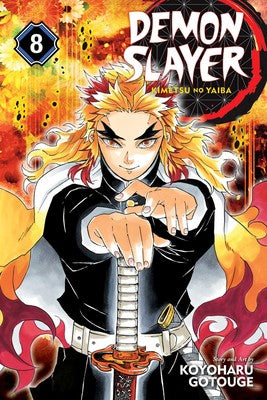 Demon Slayer: Kimetsu no Yaiba Vol. 08