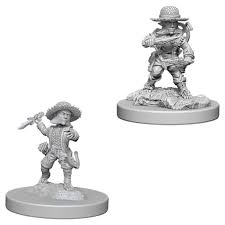 Pathfinder Figure: Halfling Male Rogue