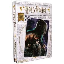 Harry Potter: Burning Hogwarts Jigsaw