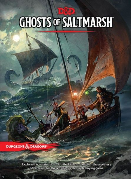 D&D: Ghosts of Saltmarsh