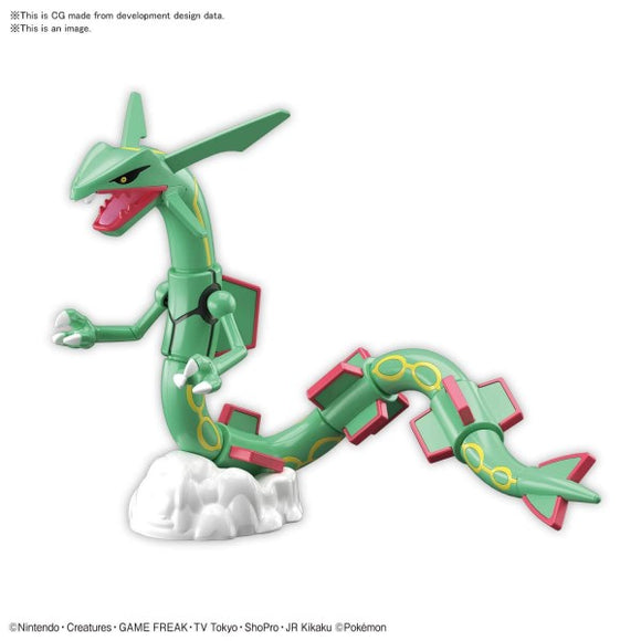Pokemon: Rayquaza Model Kit