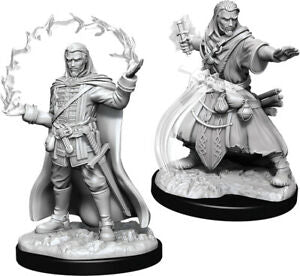 D&D Figure: Male Human Wizard