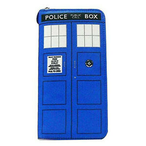 Dr Who: Wallet - Ladies Clutch (Tardis)