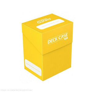 Ultimate Guard: Deck Case 80+ Yellow