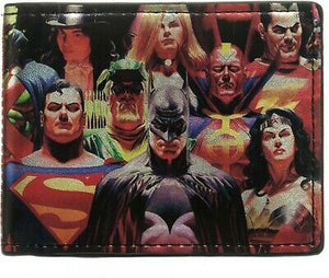 DC Comics: Heroes Vs Villians Wallet