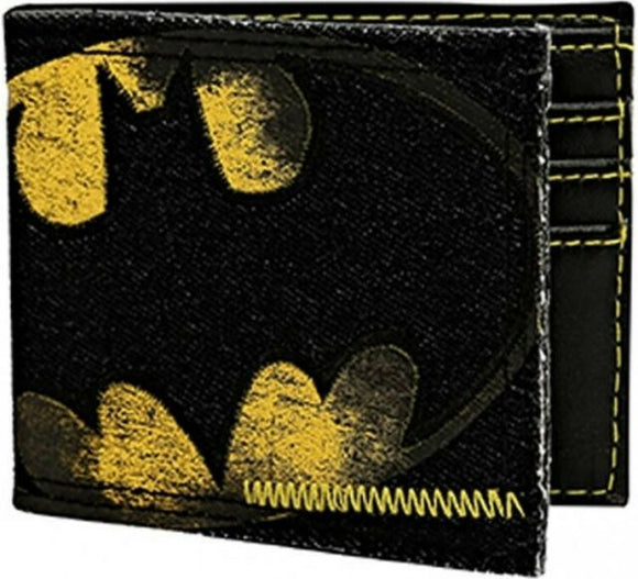 DC Comics: Batman Logo Denim Wallet