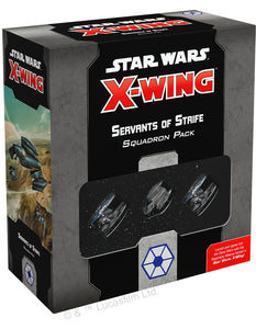 Star Wars X-Wing 2nd: Servant Strife Squ