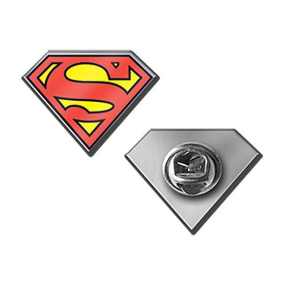 Lapel: Superman Shield