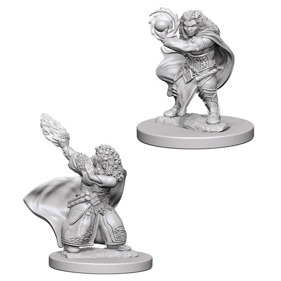 D&D Figure: Dwarf Female Wizard