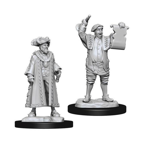 Wizkids Figure: Mayor & Town Crier