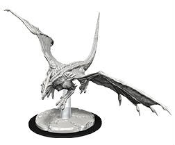 D&D Figure: Young White Dragon